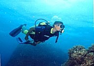 Scuba diving at Redang